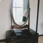 古い鏡台を再生修理